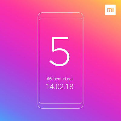 Xiaomi Redmi 5 Rilis di Hari Valentine