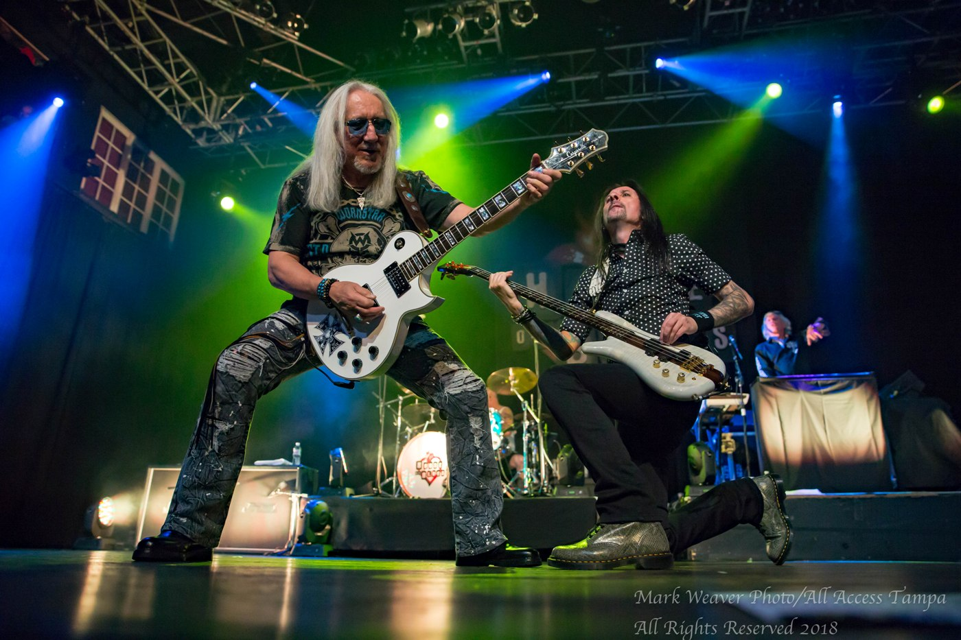 THE CLASSIC ROCK MUSIC REPORTER: MICK BOX OF URIAH HEEP FROM
