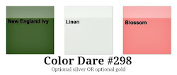 Color Dare #298 - Closes Thur July 5th