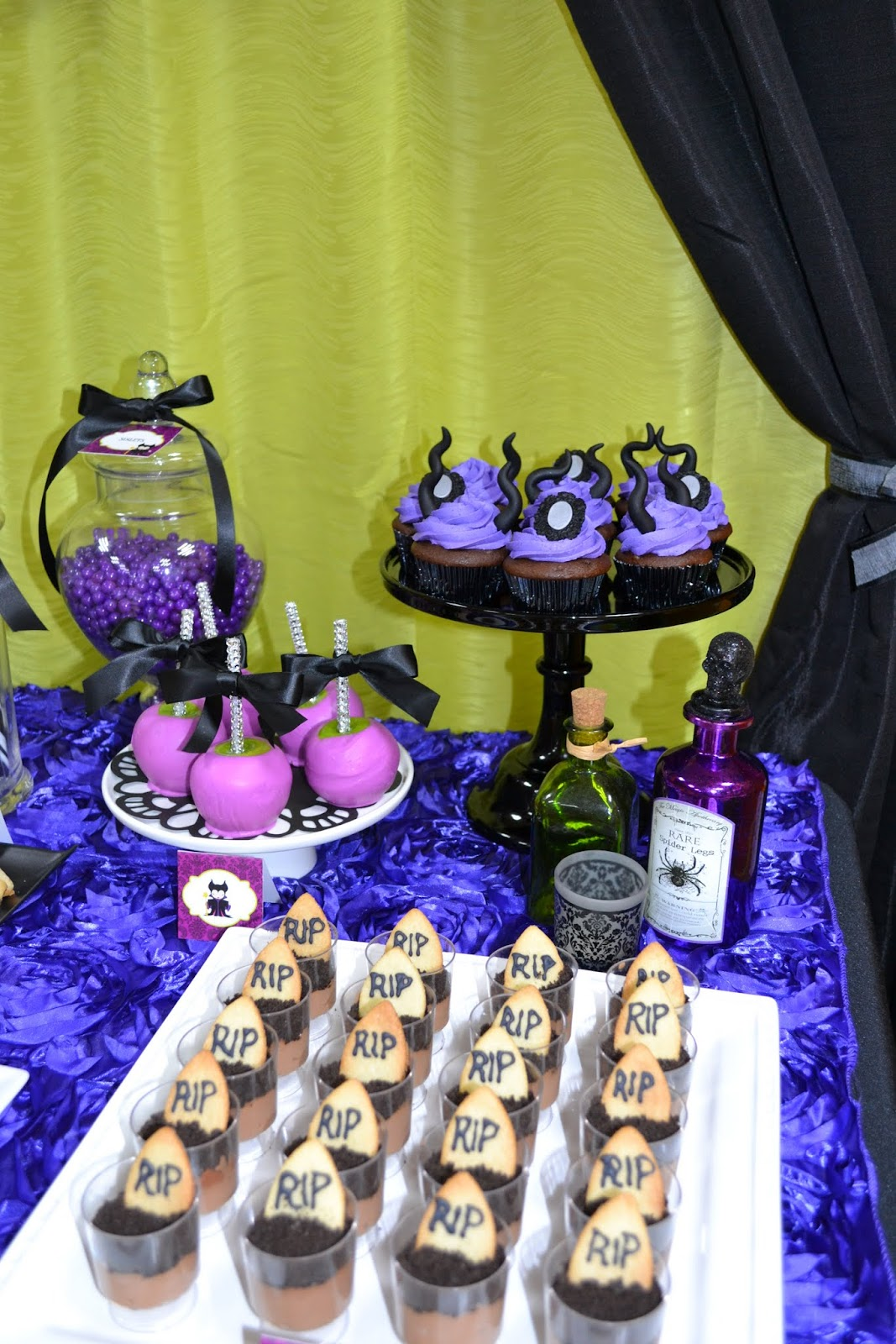 Partylicious Events Pr Maleficent Birthday Party