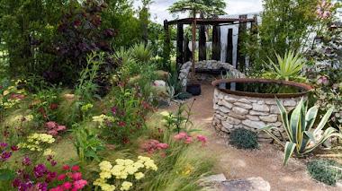 Jardines en Hampton Court 2016: The Austin Garden y las praderas de Texas