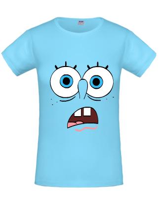 8090485d42 Spongya Bob kék póló