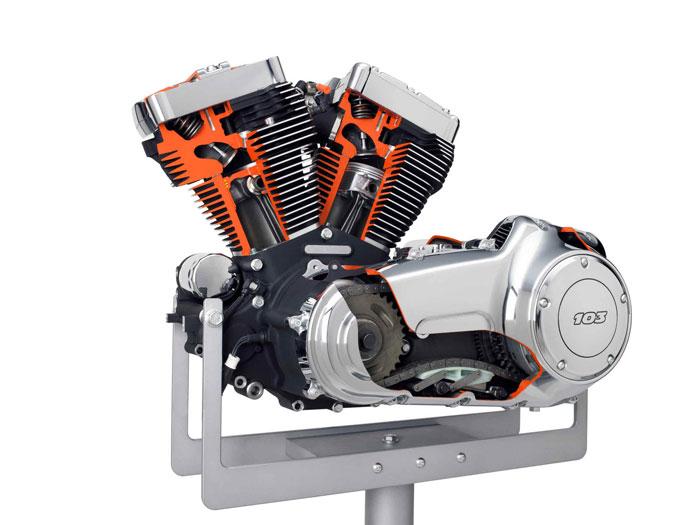 2012 harley davidson engine with twin cam 103 motorbike. Black Bedroom Furniture Sets. Home Design Ideas