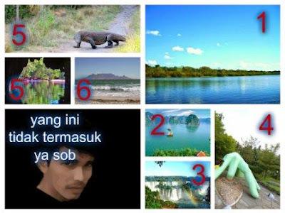 7 Keajaiban Alam Dunia (New 7 Wonders of Nature)