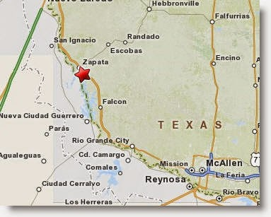 Map Of Zapata Tx.Borderland Beat Falcon Lake Texas Zetas Regional Leader Arrested