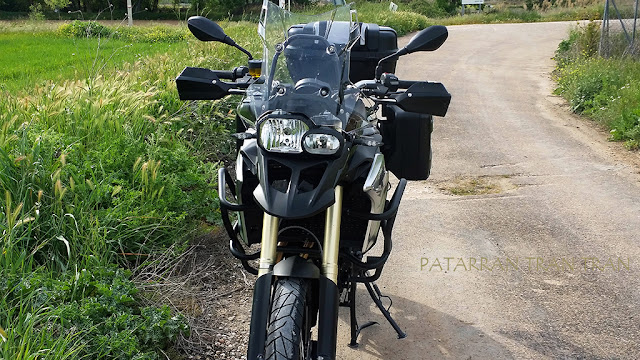 Defensas para BMW F800GS. El dossier.