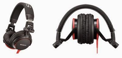 Headphone DJ murah terbaik 2015, Sony mdr v55