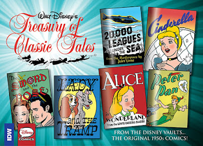 Walt Disney'sTreasury of Classic Tales vol.1 from IDW