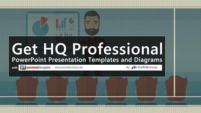 Get HQ Professional PowerPoint Presentation Templates and Diagrams with Powered Template