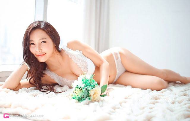 0 Lee Ji Na - lingerie collection - very cute asian girl-girlcute4u.blogspot.com