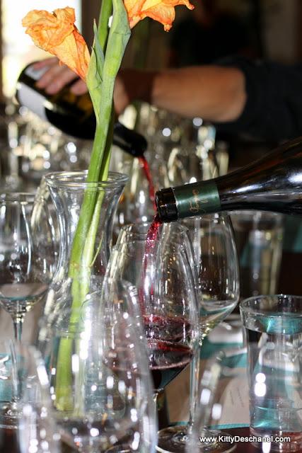 wine pairings at 192 at the blake