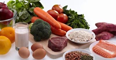 Makanlah makanan yang baik agar tubuh sehat