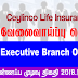 Vacancy In Ceylinco Life Insurance Ltd  Post Of - Executive Branch Operations
