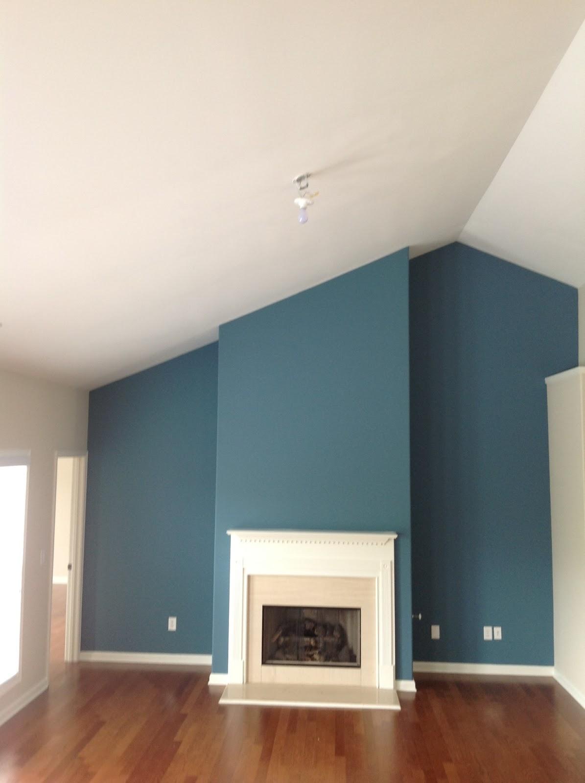 Teal and Brown Living Room | peacock teal, chocolate brown ...