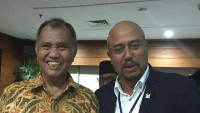 Putu Sudiartana bersama Ketua KPK Agus Rahadjo