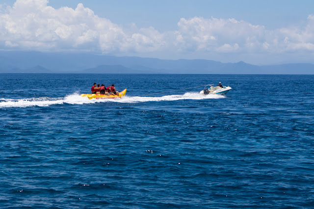 Banana boat Nusa Lembongan-Bali