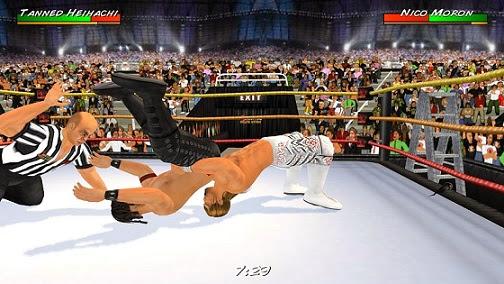 لعبة مصارعة المحترفين للأندرويد - WWE Game APK