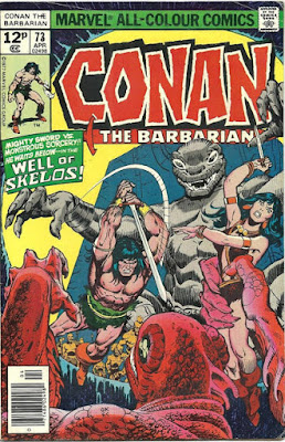 Conan the Barbarian #73, the Well of Skelos