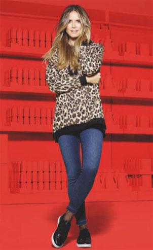 sudadera ropa colección Heidi Klum Lidl
