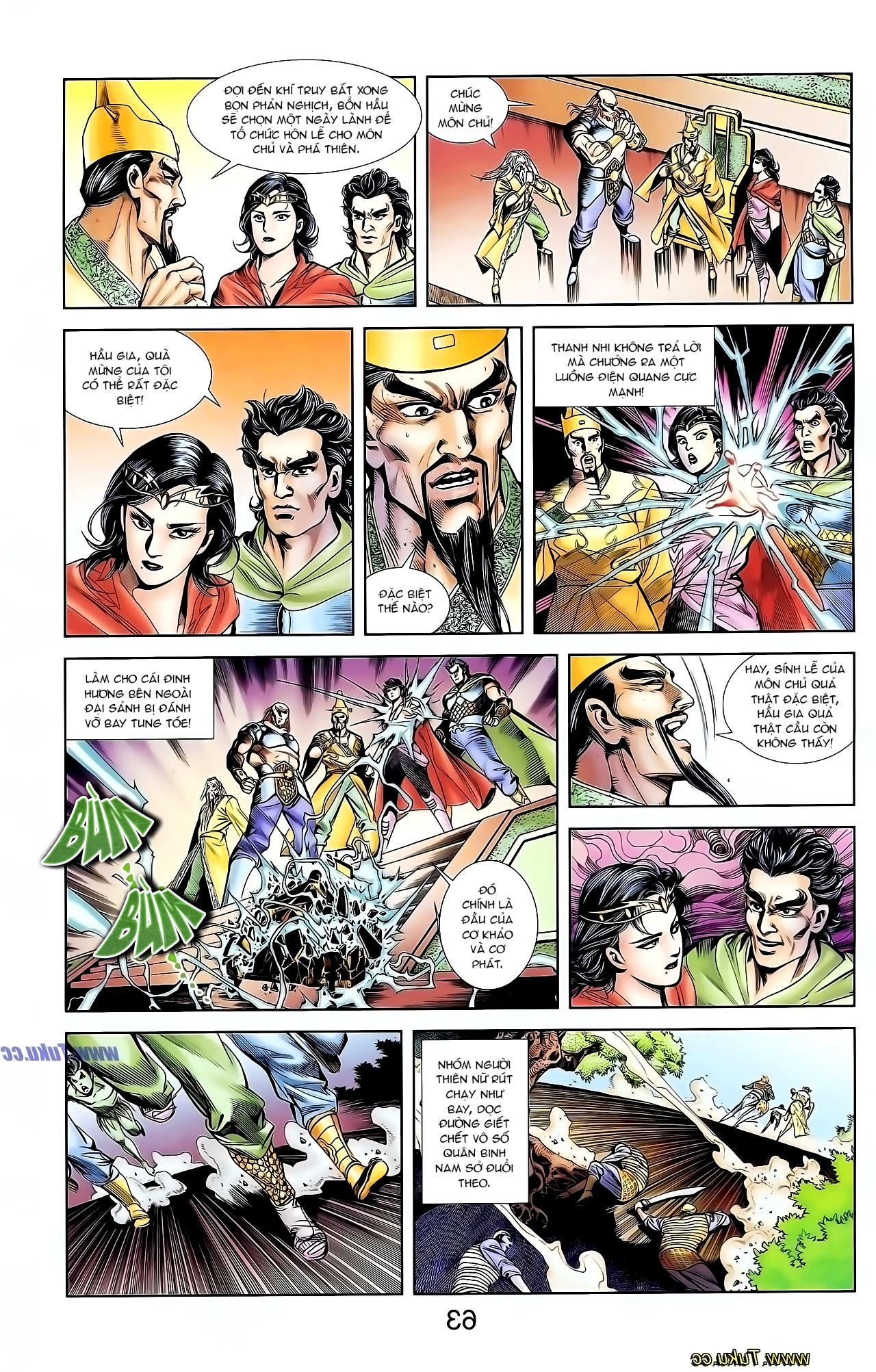 Cơ Phát Khai Chu Bản chapter 127 trang 23