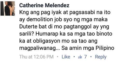 Aiko Melendez Slams De Lima For Her Drama Act in Senate Hearings: 'Humarap ka sa mga taong binoto ka at obligasyon mong magpaliwanag'!
