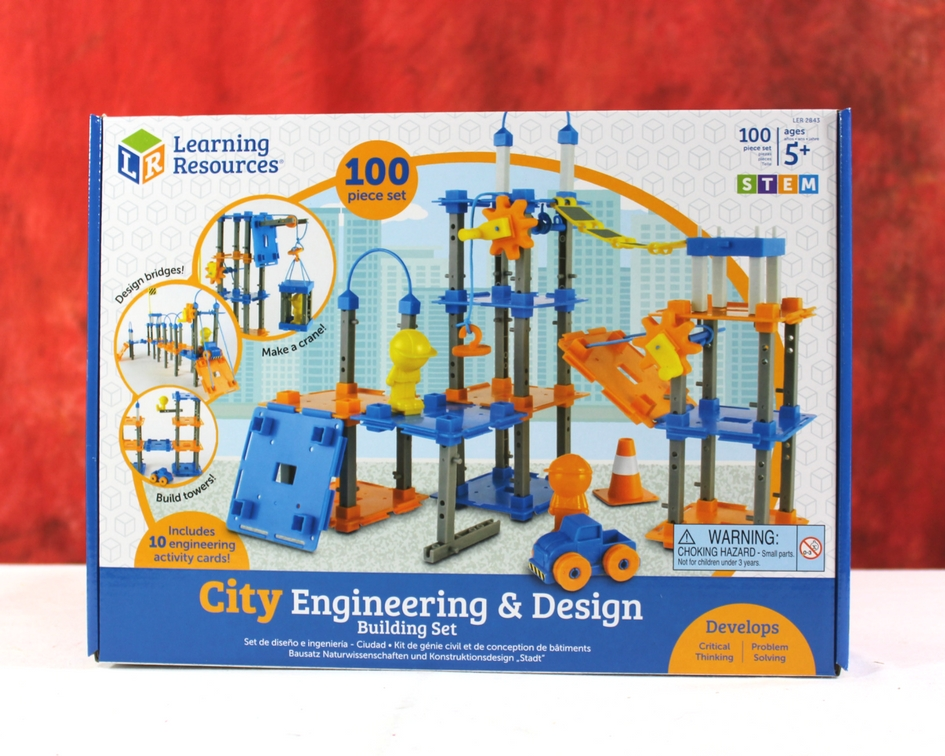 Stem Fun With Learning Resources City Engineering Design Building