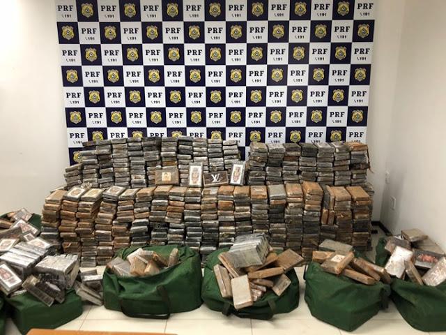 Juiz determina incineração de tonelada de cocaína apreendida em Canapi