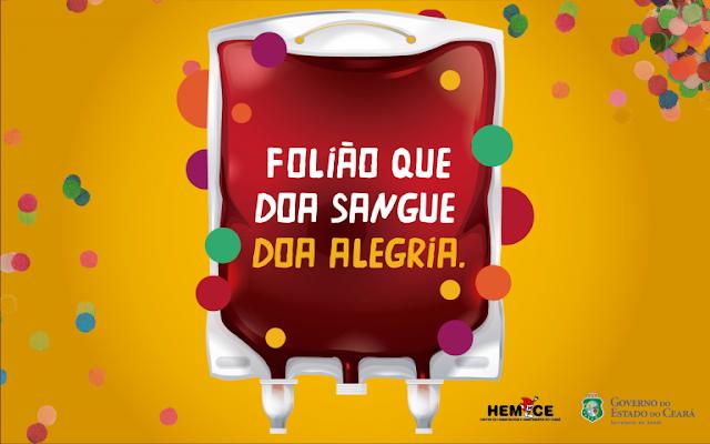Hemoce lança campanha de Carnaval nesta terça c459489b66e