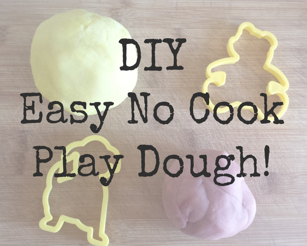 We've made our own play dough before, but we used to do it on the hob and at least half the time it would go a bit wrong. Then I came across this fantastic easy peasy totally fool proof method with no cooking what so ever. (Which is great for me because, less washing up!) Haha. But seriously if you've ever wanted to make your own play dough, or perhaps tried and failed miserably I definitely suggest trying to make it using this no cook method! Trust me!