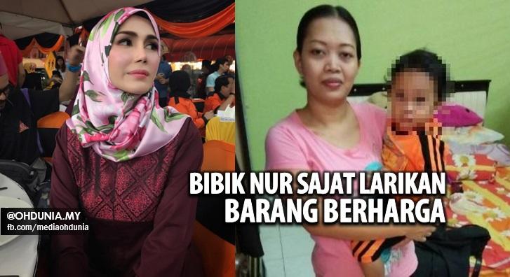 Giliran Nur Sajat Tawar RM5,000 Cari 2 Bibik Curi Barang Di Rumah Ibu