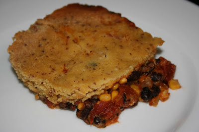 Tamale Pie is a fun and easy casserole that you can make vegetarian or with meat. This is a crockpot slow cooker recipe.
