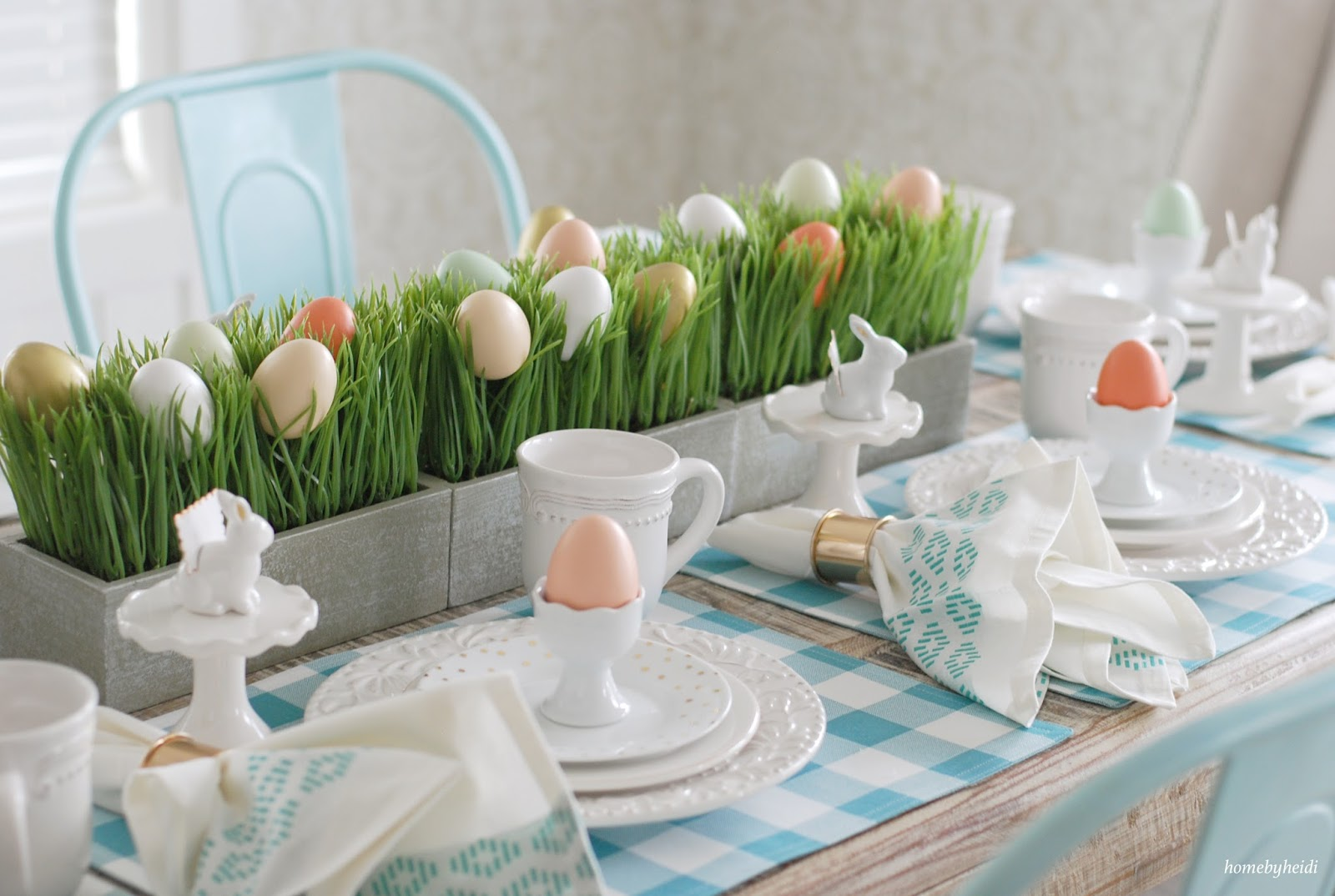 Kitchen Chair Pads Target Buy Covers Cheap Home By Heidi: Easter Sunday Tablescape