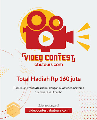 Lomba Video Contest 2017 for Umum by AbuTours