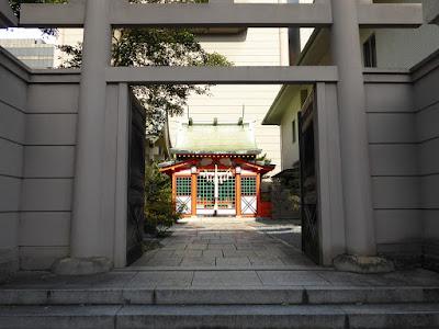 坐摩神社 稲荷神社