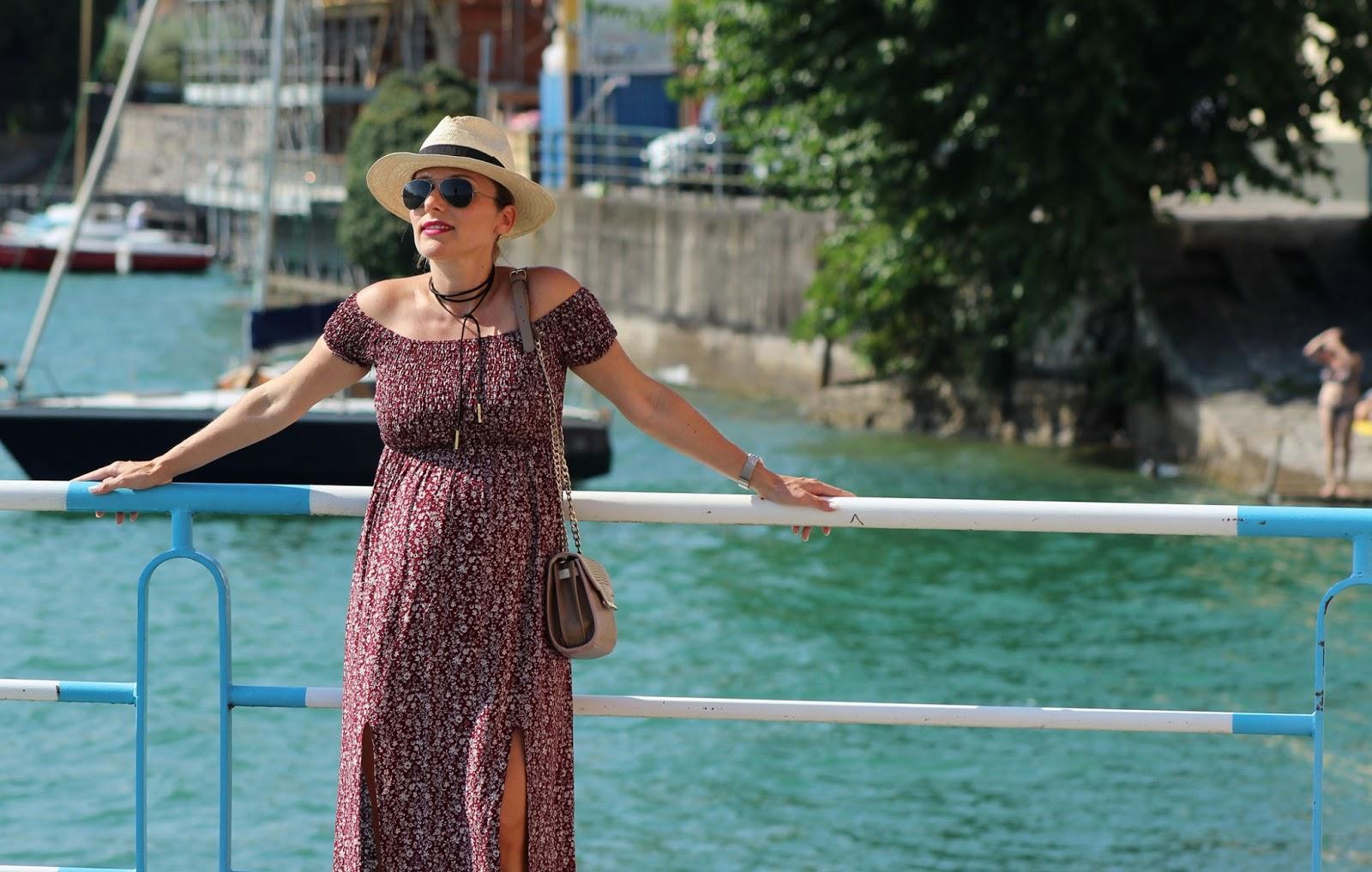 Come indossare un maxi floral dress - Eniwhere Fashion