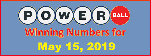 PowerBall Winning Numbers for Wednesday, May 15, 2019