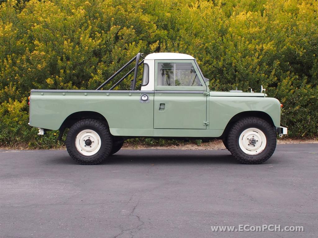autoliterate 1962 land rover series iia 109 pick up. Black Bedroom Furniture Sets. Home Design Ideas