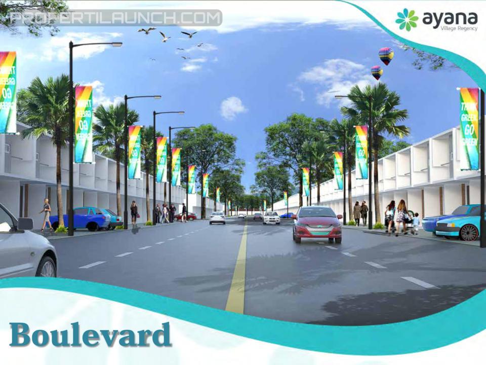 Boulevard Ayana Village Regency