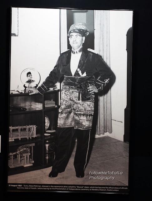 31st Aug 1957, Tunku Abdul Rahman dressed in the ceremonial attire