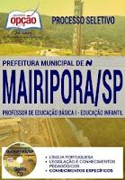 Apostila Prefeitura de Mairiporã 2017 Professor