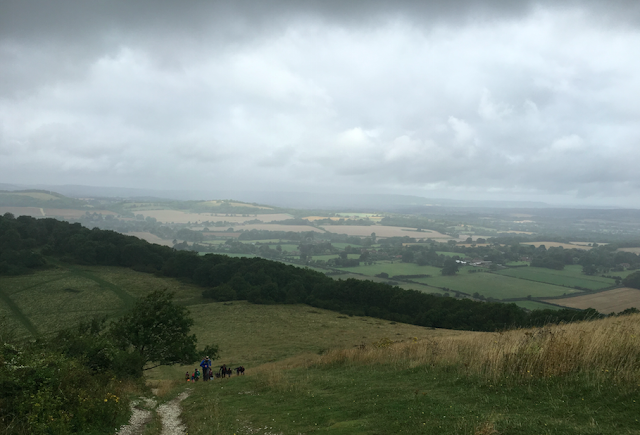 FitBits | Cycling the South Downs Way - Petersfield to Amberley - Beacon Hill