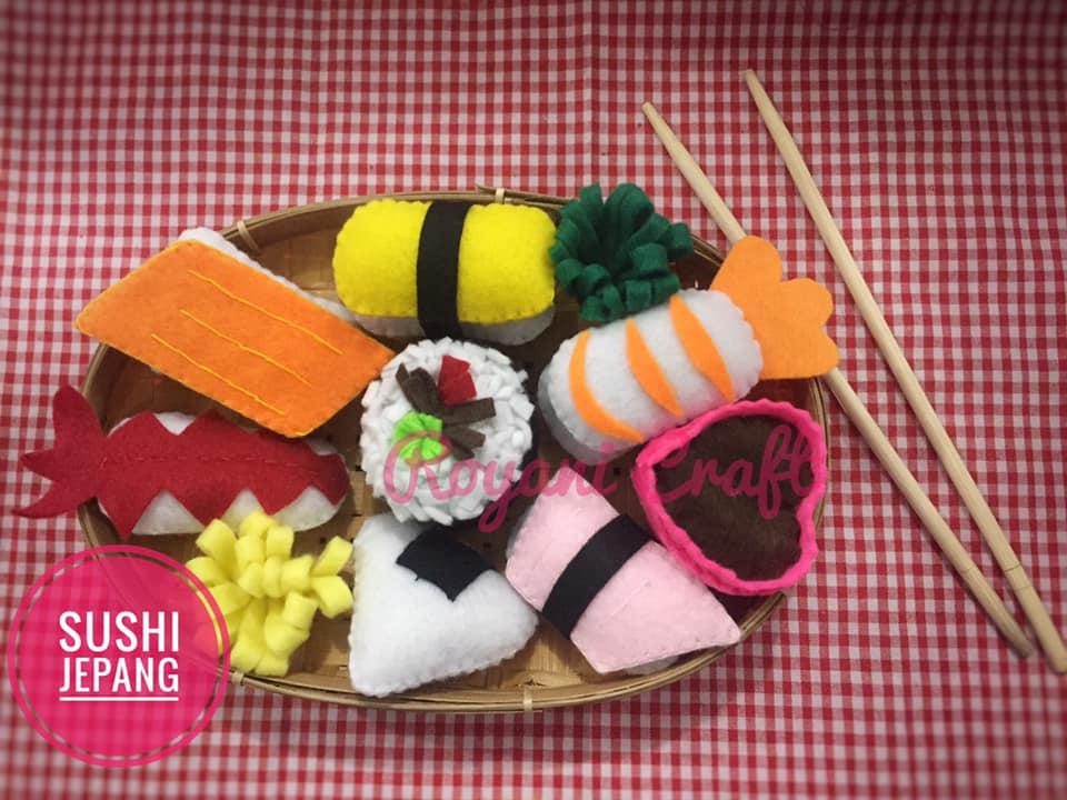 Replika Makanan Replika Makanan Sushi Jepang