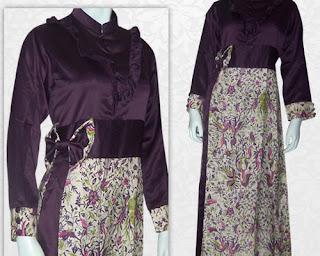 model baju batik kombinasi sarimbit keluarga