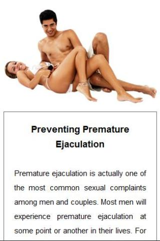 Are how to cure pre mature ejaculation