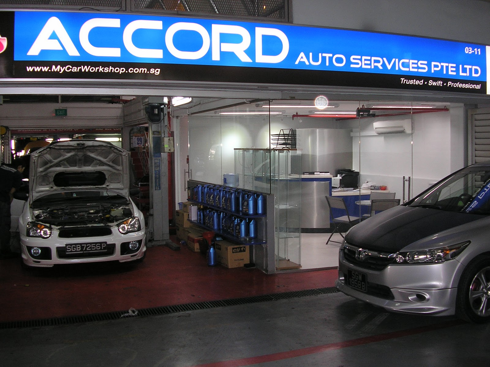 Eastwest Interior Car Workshop At The Autopoint Amk