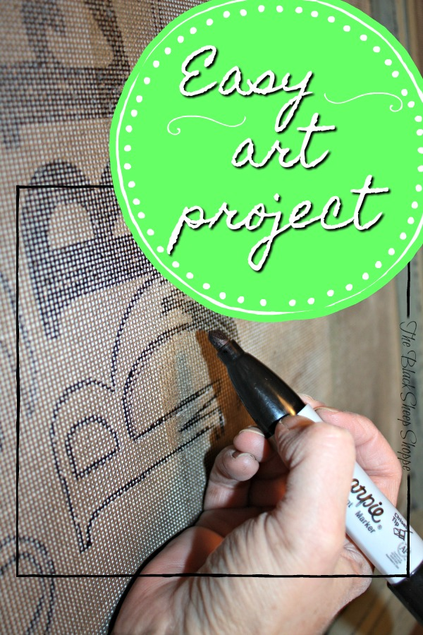 This is an easy art project and can be customized in many different ways.