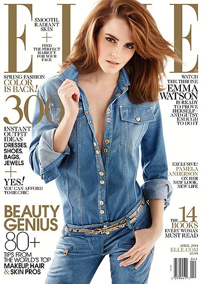 Emma Watson on the cover of Elle