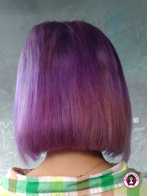 Fading Out Purple Hair Fast