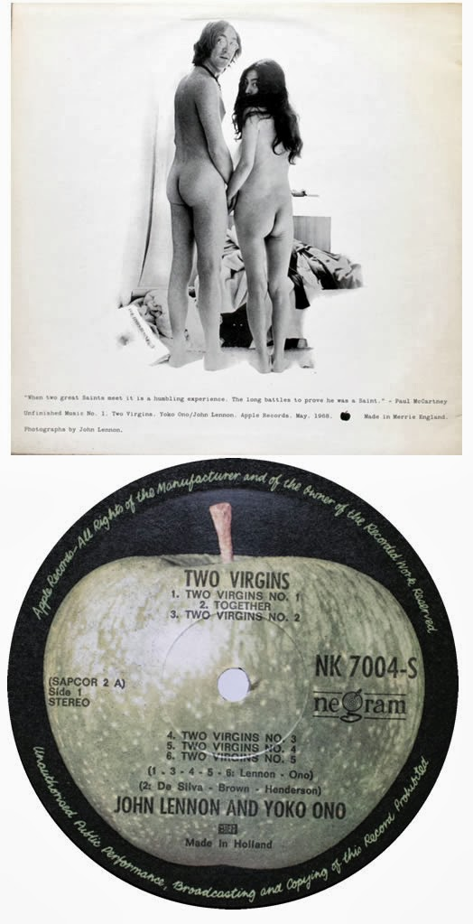 Jfn Music The Listening Room John Amp Yoko 2 Virgins Album