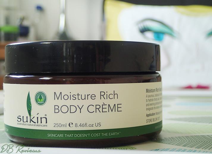 Sukin Moisture Rich Body Crème